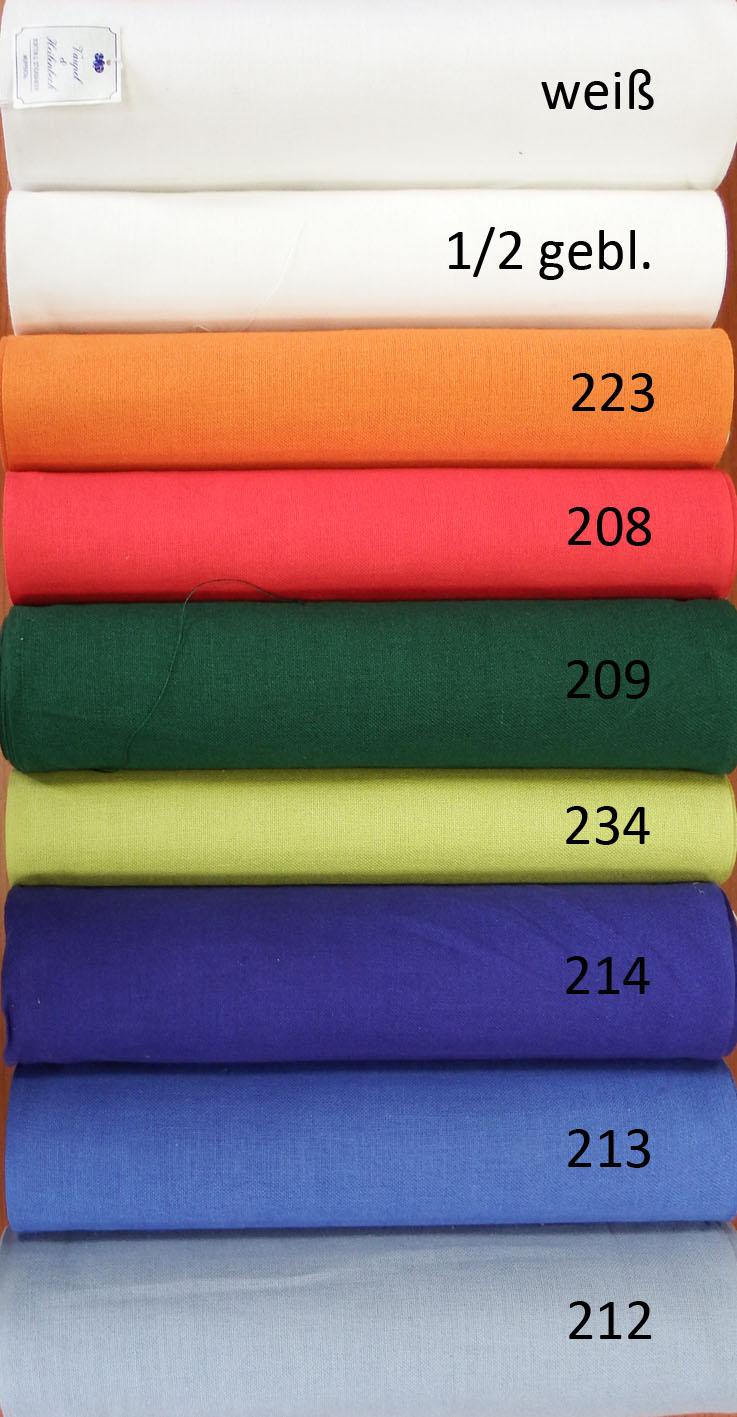 Farben Leinenstoff VH
