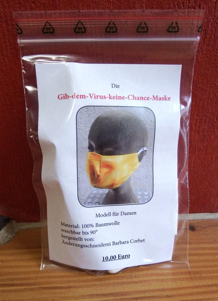 gesichts-schutzmaske